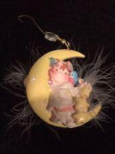 Enesco Angel on Moon Ornament Catch a Wishing Star Series 1995
