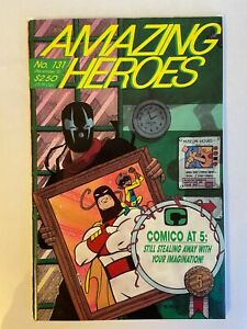 Amazing Heroes 131 1st Venom Preview 12/87 Very Rare and #115 1st Swimsuit Issue