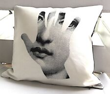 Fornasetti Original T&V Pillow Cushion Mano