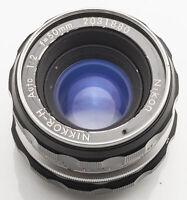Nikon Nikkor-H Nikkor H Auto 1:2 50mm 50 mm 2 Objektiv