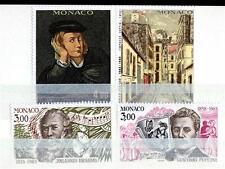 """MONACO - 1983 - """"Le arti"""". Anniversari della nascita di celebrità (2)"""