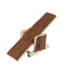 Wooden Seesaw Cage House Exercise Chew Play Pet Toys For Hamster Rat Mouse Mice