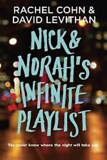 Nick and Norah's Infinite Playlist by David Levithan and Rachel Cohn (2007,...
