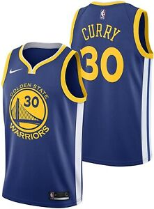 Nike NBA Youth Golden State Warriors Stephen Curry Swingman Icon Jersey