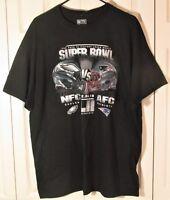 Philadelphia Eagles vs Patriots Super Bowl LII Men XL T-Shirt 2018 Collector