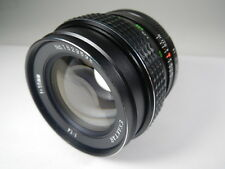 LENS OBJEKTIV EXAKTAR 1:1,4 f:55 mm MADE IN JAPAN SCREW MOUNT M42 LIKE NEW MINT