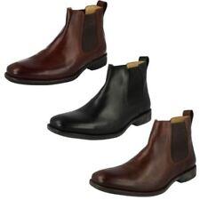 Botas de hombre botines negros de piel
