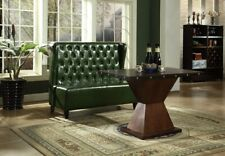 Chesterfield Sofa Bench Couch Green Waiting Room Living Office New