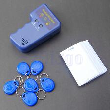 Handheld RFID Duplicator Copier/Writer Programmer +6 Tags/Writable Cards Copy HW