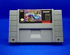 Teenage Mutant Ninja Turtles Iv: Turtles in Time For Snes *Read Description*