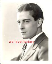 Vintage Ramon Novarro QUITE HANDSOME SEXY '31 DBW Publicity Portrait