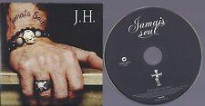Johnny Hallyday CD PROMO un titre  Jamais seul de 2011 sous pochette carton