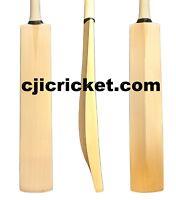 Plain Senior Custom Hand Made English Willow Cricket Bat - Various Weights