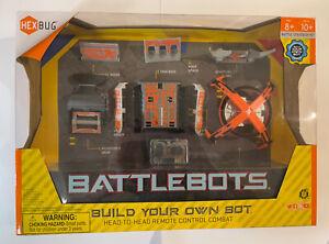 New HEXBUG BattleBots Build Your Own Bot 8+ Battle Strategy Kit