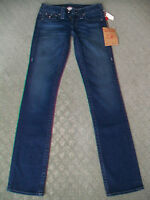 TRUE RELIGION 'BILLY PEARL HARDWARE' JEANS WMN - BNWT - SIZE 6 7 8 9 10 11 12