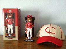 Cincinnati Reds Ken Griffey Jr. bobblehead and baseball cap
