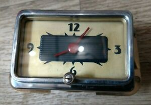 1940 Mercury Clock Fully Reconditioned excellent!