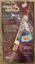 OOP Estes Maxi Alpha 3 Flying Model Rocket Kit #1903.  New in unopened bag