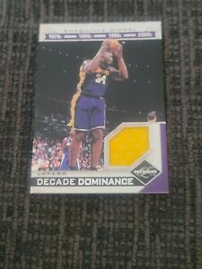 Panini Limited Decade Dominance Shaquille O'Neal jersey /99