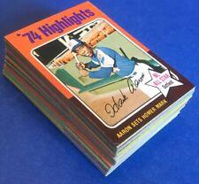 1975 Topps MINI Baseball - 52 Card Lot  (Set Break)