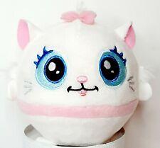 Disney Aristocats Marie Dutchess Squeezamals embroidered Round Toy Kitten Plush