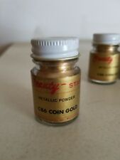 Vintage American Beauty Metallic Powder C86 Coin Gold 1/2 Oz.