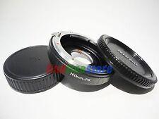 with glass Nikon F AI Lens to Pentax K PK adapter infinity focus K5 KM KR + CAPS