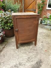 Rustic Handmade Wooden Vintage Linen Cupboard Cabinet Storage Unit