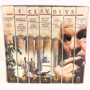 I, Claudius (1976) PBS Masterpiece Theater Complete Mini-Series VHS Box Set