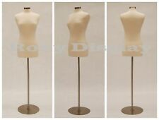 High Quality Size 6 8 Female Mannequin Dress Form F68wbs 04 Metal Base