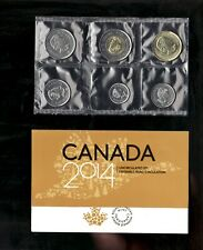 2014 Uncirculated Coin Proof Like Set ~ Loon Bear Canadian Coin set