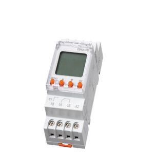 digitale Zeitschaltuhr für Hutschiene Schaltschrank 24-230V 4000VA 2Kanal