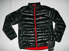 SPYDER mens PRIMO DOWN INSULATED Black Puffer Winter JACKET mens L / LARGE NEW