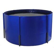 Faltbecken 150 x 120 cm, 2.100 Liter, Blau oder Schwarz