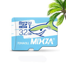 MIXZA Shark Edition Memory Card 32GB Micro SD Card Class10 For Smartphone Camera