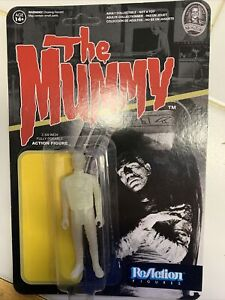 The Mummy GLOW action figure Super7 ReAction Universal Monsters - Opened