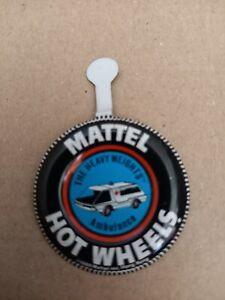 VINTAGE 1969 MATTEL HOT WHEELS REDLINE HEAVYWEIGHTS AMBULANCE BUTTON FOR CARS