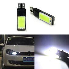 2PCS T10 W5W 194 168 6W LED Bianco Lampadine Luminosa Testata Leggero Hot