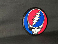 """Grateful Dead Vintage Steal Your Face Button Pin 2.25"""" Inch 70s-80s"""