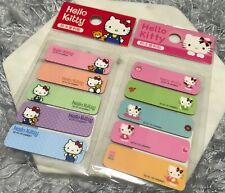 NEW Cute HELLO KITTY Sticky Notes Memo Pads Flag Index Message Bookmark Plastic