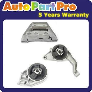 For Pontiac Saturn 2.2L 2.4L 5385 3081 5374 3PCS Chevrolet Motor & Trans Mount