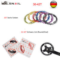 30-52T Kettenblatt 104BCD Schmales Breites Single Speed MTB Rennrad Kettenblatt
