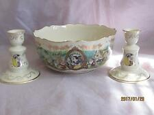 Lenox China Disney's Snow White Center Bowl & Candlesticks