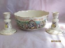 Lenox China Disney's Snow White Center Bowl & Candlesticks