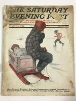 The Saturday Evening Post March 4, 1922 Vintage Magazine