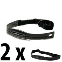 2 X Garmin Standard Heart Rate Strap/Transmitter (OEM) Part Number: 010-10997-00