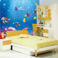 Removable Ocean Sea Fish Wall Sticker Art Home Bath Room Decoration Decal DIY