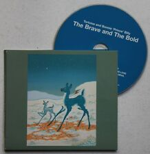 TORTOISE AND BONNIE PRINCE BILLY THE BRAVE AND THE BOLD ADV CD Card Foc