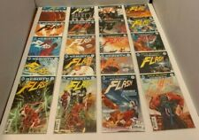 LOT OF 76 FLASH DC REBIRTH #1-77 COMPLETE SET (-3) + 1 SHOTS (2016-2019)