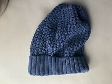 Gap boys Blue cable knit beanie size S/M
